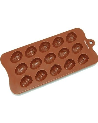 Freshware 15 Cavity Silicone Mold Pan CB-605BR