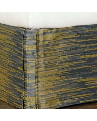 """Eastern Accents Pierce Horta 16"""" Bed Skirt NCX1722 Size: King Color: Olive"""