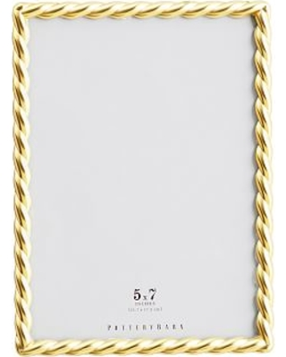 New Deals On Rope Plated Frame Gold 5 X 7