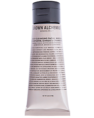 Grown Alchemist Deep Cleansing Masque Wheatgerm Ginkgo & Cranberry in Beauty: NA.