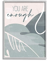 10 x 15 Design by Kim Allen Wall Plaque Stupell Industries You are Loveable Phrase Abstract Pink Nature