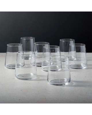 Neat Double Old-Fashioned Glass Set of 8