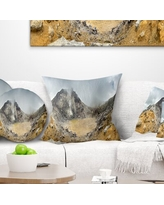 Deals On Landscape Printed Stormy Sky With Clouds Panorama Pillow East Urban Home Size 18 X 18 Product Type Throw Pillow