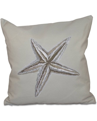 "Simply Daisy 16"" x 16"" Polyester Decorative Outdoor Pillow"