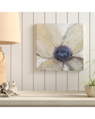 """'Flower Flow I' Acrylic Painting Print on Wrapped Canvas Highland Dunes Size: 18"""" H x 18"""" W x 2"""" D"""