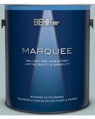 BEHR MARQUEE 1 gal. Home Decorators Collection #HDC-CL-15G Morning Parlor Satin Enamel Interior Paint and Primer