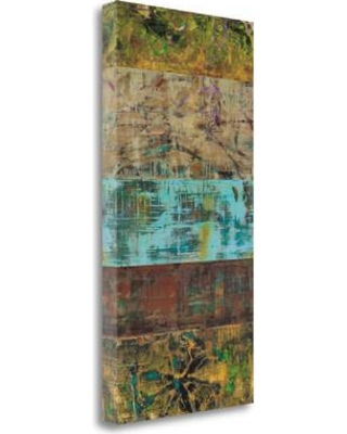 """Tangletown Fine Art 'Overgrown I' Graphic Art Print on Wrapped Canvas CAGHP111-1529c Size: 29"""" H x 15"""" W"""