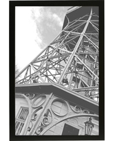"""11""""x17"""" Traditional Gallery Frame Black - Made By Design"""