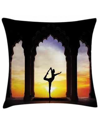 """Indoor / Outdoor 26"""" Throw Pillow Cover East Urban Home"""