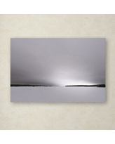 """Trademark Fine Art 'Neutral Gray Finish' Photographic Print on Wrapped Canvas PSL01138-C Size: 30"""" H x 47"""" W"""
