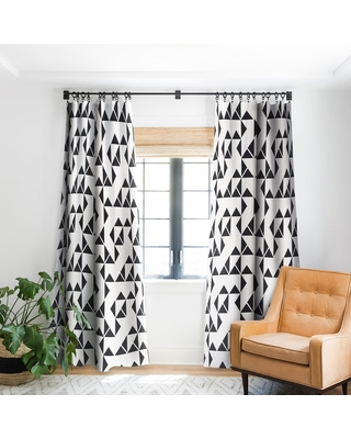 Holli Zollinger Pinwheels Blackout Curtain Panel (84 Inches)