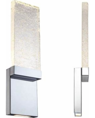 Modern Forms Glacier 21 Inch LED Wall Sconce - ws-12721-CH