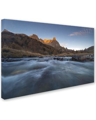 """Trademark Fine Art """"Admire Nature"""" by Mathieu Rivrin Photographic Print on Wrapped Canvas RV0081-C Size: 30"""" H x 47"""" W x 2"""" D"""