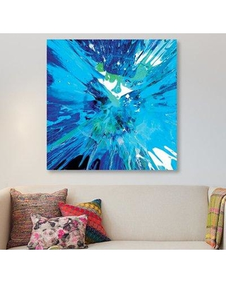 """East Urban Home 'Fearless I' Painting Print on Canvas EAUU1670 Size: 18"""" H x 18"""" W x 1.5"""" D"""