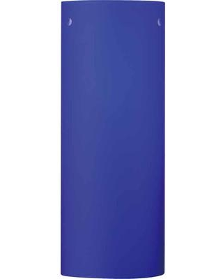 """Volume Lighting 3"""" Glass Drum Wall Sconce Shade GS-31 Color: Blue"""