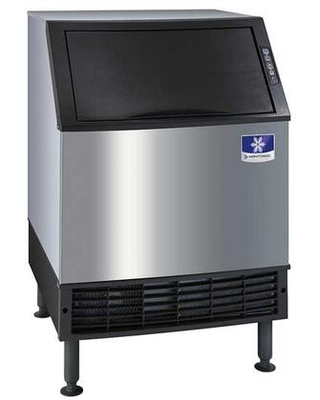 """UYF0140A161B 26"""" NEO Undercounter Ice Machine with 137 lbs. Daily Ice Production 90 lbs. Storage Capacity AlphaSan in Stainless Steel -"""