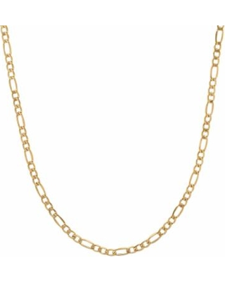 """Everlasting Gold 14k Gold Figaro Chain Necklace - 24-in., Women's, Size: 24"""", Yellow"""