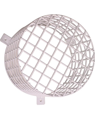 "Safety Technology International, Inc. STI-9614 Beacon and Sounder Steel Wire Cage, Approx. 7.9"" Width x 6"" Depth"