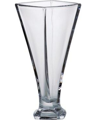 """Majestic Crystal Crystalline Table Vase 97119-11 / 97119-13 Size: 13.15"""" H x 5.9"""" W x 5.9"""" D"""