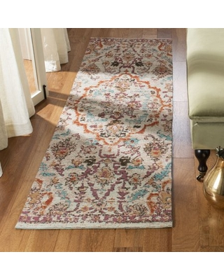 Safavieh Classic Vintage Dimitri Floral Bordered Area Rug or Runner