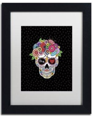 """East Urban Home 'Lost Love' Framed Graphic Art ETRB1667 Matte Color: White Size: 20"""" H x 16"""" W x 0.5"""" D"""