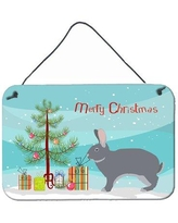 Here S A Great Deal On Halleck Giant Chinchilla Rabbit Christmas Indoor Outdoor Throw Pillow The Holiday Aisle