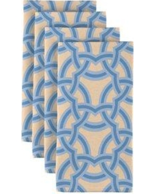 """Fabric Textile Products Inc. Links Together 18"""" Napkins SG-HYEA-HZDH"""