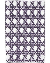 Ivy Bronx Sailer Beach Towel IVBX7473 Color: Purple