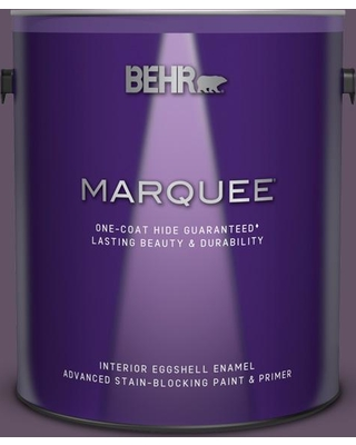 BEHR MARQUEE 1 gal. Home Decorators Collection #HDC-CL-03 Grand Grape Eggshell Enamel Interior Paint and Primer
