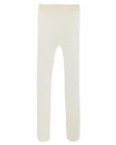 First Impressions Baby Girls Opaque Tights, Created for Macy's - Ivory
