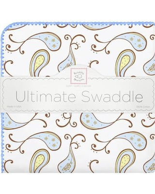 Swaddle Designs Paisley Swaddle Blanket SD-120PB