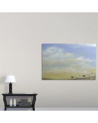 "Great Big Canvas 'Before Dusk IV' Jennifer Goldberger Painting Print 2395434_1_ Size: 40"" H x 60"" W x 1.5"" D Format: Canvas"