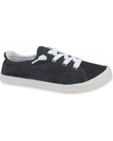 Jellypop Black Denim Dallas Lace Up Sneakers
