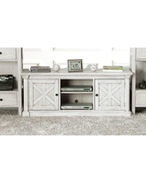 """August Grove Jacey Solid Wood TV Stand for TVs up to 65"""" X111044463"""