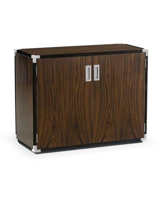 Jonathan Charles Fine Furniture Campaign Style 2 Door Accent Cabinet 500235-SAD