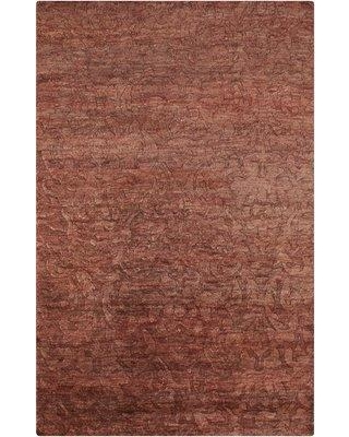 Darby Home Co Limewood Burgundy Rug DBYH7823 Rug Size: Rectangle 2' x 3'