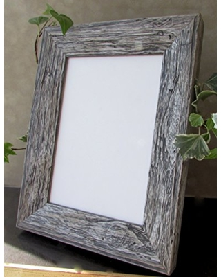 Ciraco Framers Rustic Weathered Distressed Photo Pic Art Urban Loft Custom Natural Moulding Deco Frame Rough Crusty Wood Flint Gray White Brown Sand