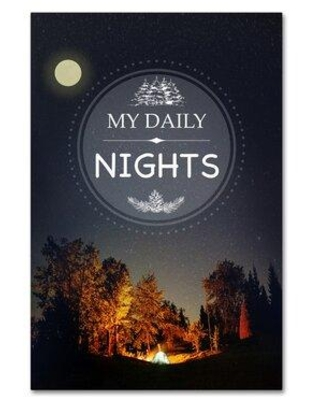 "Winston Porter 'My Daily Nights' Graphic Art Print on Wrapped Canvas XOTU6788 Size: 19"" H x 12"" W"