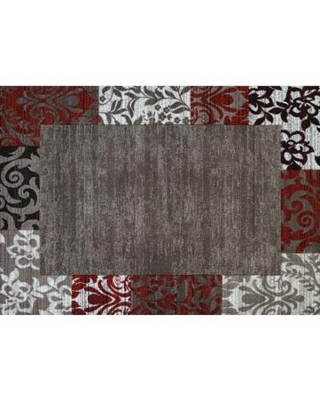 United Weavers Studio Valence Floral Rug, Red, 8X10.5 Ft
