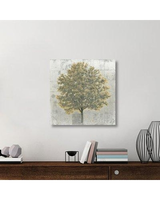 """East Urban Home 'Neutrality Gold' Graphic Art Print on Canvas UBAH6612 Size: 30"""" H x 30"""" W x 1.5""""D"""