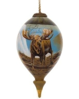 The Holiday Aisle The Scenic Route Finial Ornament THLY1597