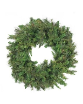 24 Canyon Pine Mixed Greens Artificial Christmas Wreath - Unlit