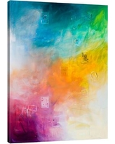 """JaxsonRea 'I'll Be Your King' by Kent Youngstrom Painting Print on Wrapped Canvas SC2316 Size: 48"""" H x 36"""" W x 1.5"""" D"""