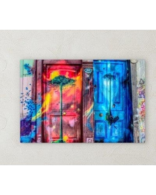 """Ebern Designs 'All Colors' Photographic Print on Wrapped Canvas BI071984 Size: 20"""" H x 40"""" W x 2"""" D"""