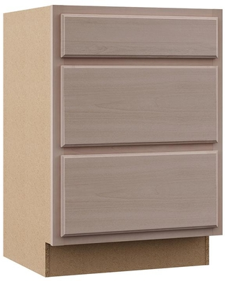 Hampton Bay Hampton Bay Hampton Assembled 24x34 5x24 In Base Kitchen Cabinet With 3 Drawers In Unfinished Beech From Home Depot Martha Stewart