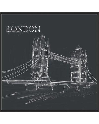 Winston Porter 'London Bridge' Framed Graphic Art Print on Canvas BI009391