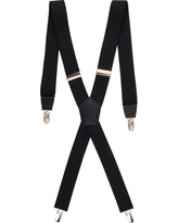 Men's Stretch Suspenders - Goodfellow & Co Black One Size