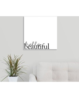 """Ebern Designs Giclee 'Love Quotes IV' Graphic Art Print W001608705 Format: Wrapped Canvas Size: 20"""" H x 20"""" W x 1.5"""" D"""