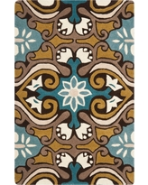Safavieh Ever Area Rug - Blue/Brown (3'x5')