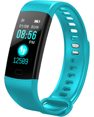 Tracker with Heart Rate Monitor, Watch Sports Activity Tracker Watch,Watch with Sleep Monitor, Step Tracker for Kids, Women, and Men (TURQUOISE)